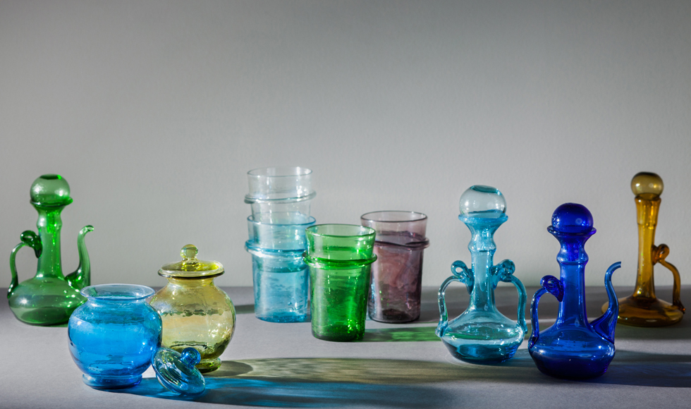 Shop Syrian handblown glass on Letternoon