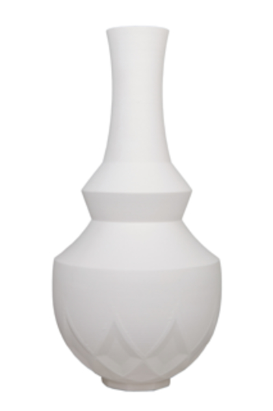 Niko Economidis Porcelain 9 Point Vase