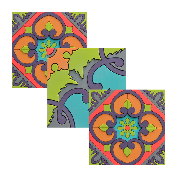 Images d'Orient Sejjadeh Coasters