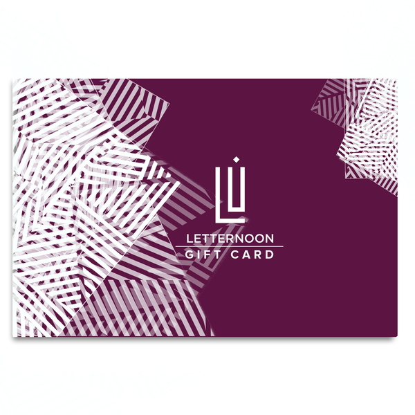 Letternoon Gift Card