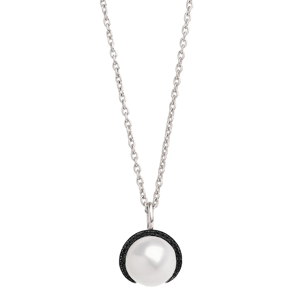 Christina Debs Pearl Pendant Necklace