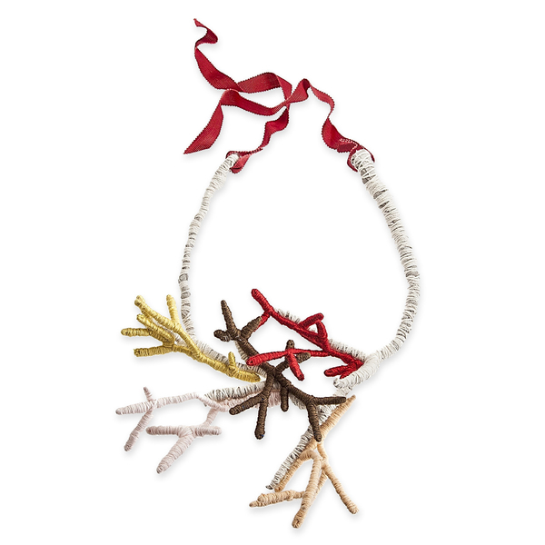 Multicolored Branches Necklace