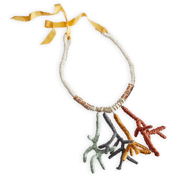 Neutral Branches Necklace