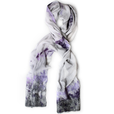Lavender Field Scarf
