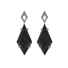 Nuummite Earrings