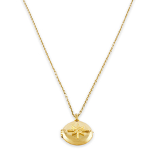 Yellow Gold True North Locket