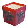 """Burhan Dogancay """"Cracking Up In Zurich"""" Printed Glass Candle"""