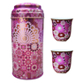 Images D'Orient Moucharabieh Tea Cup Set, Parme