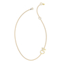 "Talaya ""KHA"" Yellow Gold Necklace"