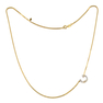 Talaya Mother Of Pearl Initial Necklace 18k Gold